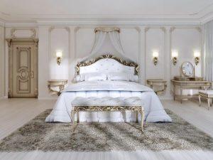 مدل تخت خواب دو نفره کلاسیک