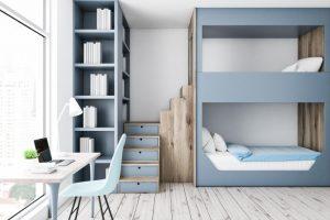 مدل تخت خواب دو طبقه