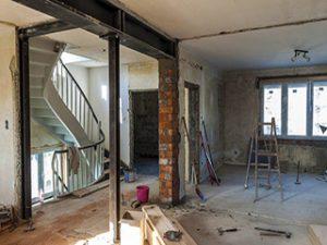 بازسازی و طراحی داخلی منزل
