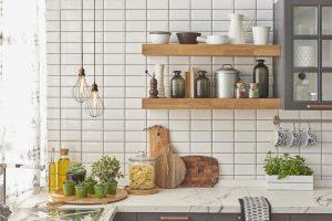گیاهان در چیدمان آشپزخانه