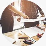 نظارت بر پروژه های طراحی داخلی و بازسازی ساختمان