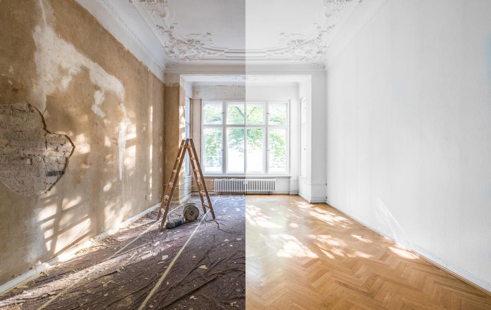 بازسازی منزل، بازسازی خانه ، بازسازی ساختمان