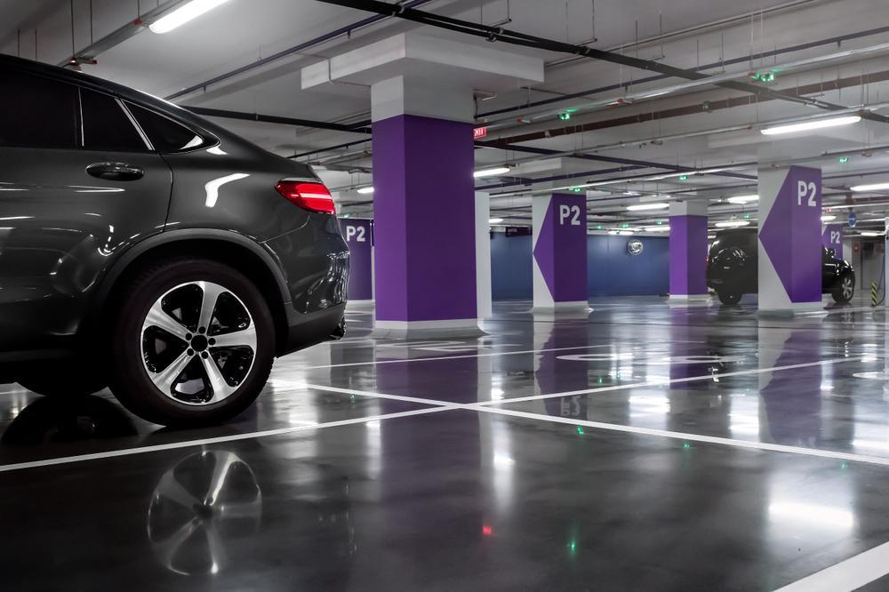 بازسازی کف و سقف پارکینگ