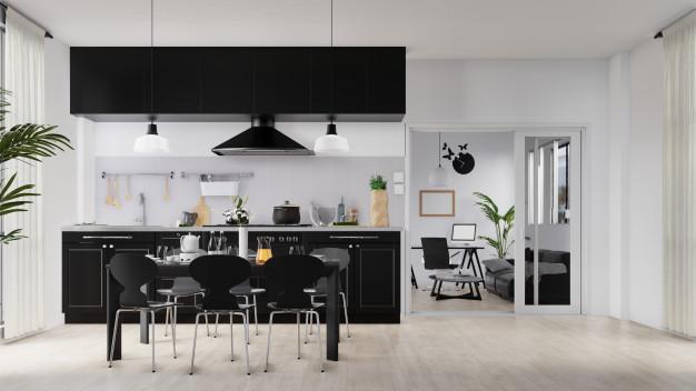 رنگ و تم دکوراسیون آشپزخانه