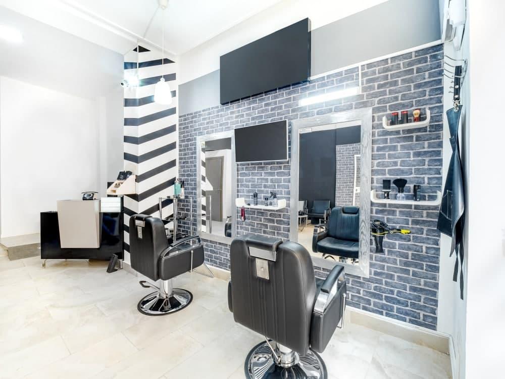 فضای برای دکوراسیون آرایشگاه مردانه