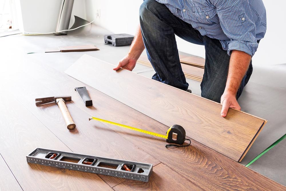 بازسازی کف خانه