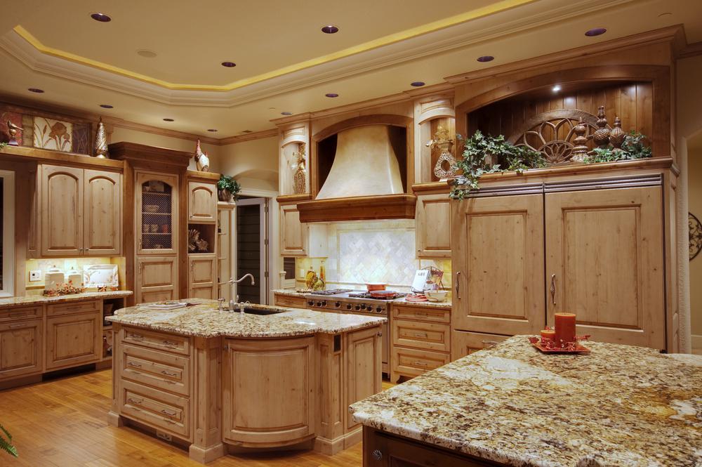 اپن کلاسیک آشپزخانه