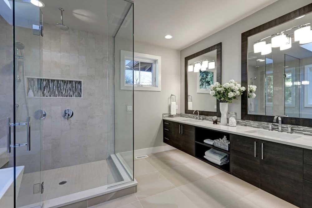 استفاده از قناسی های حمام در طراحی حمام