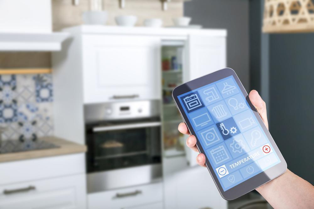 هوشمندسازی آشپزخانه مدرن