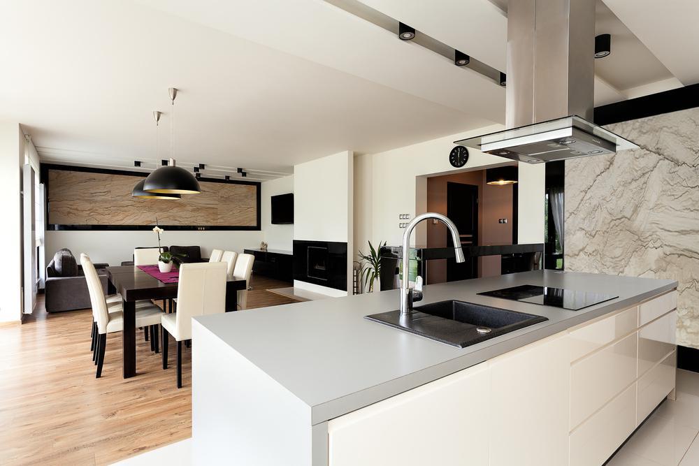 همخوانی آشپزخانه مدرن با سایر قسمت های منزل