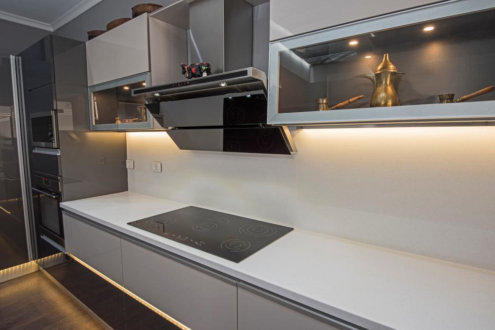نورپردازی آشپزخانه مدرن