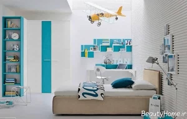 دکوراسیون اتاق خواب نوجوان با ایده عالی